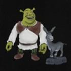 Shrek - Sandblasted Design