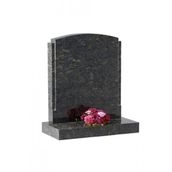 EC12 Butterfly  Granite polished rebate Memorial