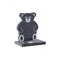 EC223 Blue Pearl Granite Childrens Teddy Bear Memorial