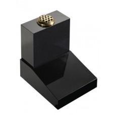 EC250 Black Granite Vase and Desk Cremation Memorial