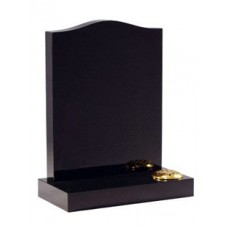 Black Granite Ogee Memorial
